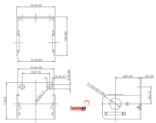 PF43300101, C-Bracket Units