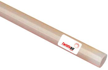 """PU34B-W, 3/4"""" OD Straight Polyurethane Tubing"""