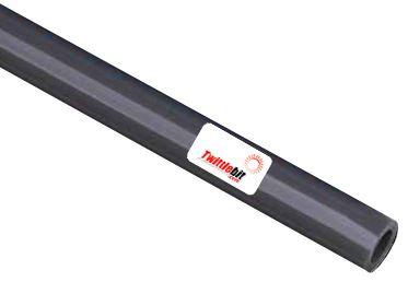 PU08M 516FGY, 8mm OD Straight Polyurethane Tubing