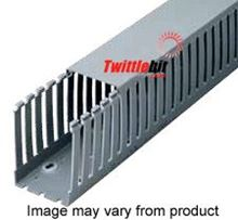 "T1-1530G, Iboco 1.5"" x 3"" Light gray PVC wire duct"