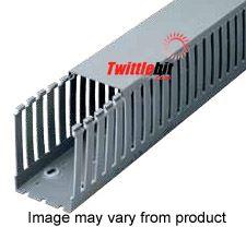 "T12230G, Iboco 2.25"" x 3"" Light gray PVC wire duct"