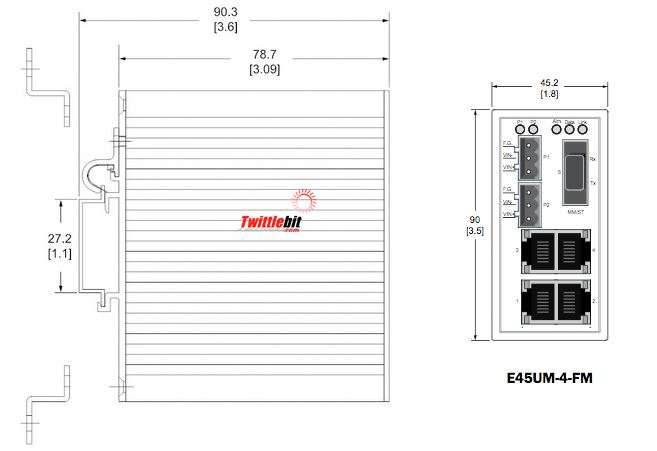 E45UM4FM, Industrial Ethernet Switches