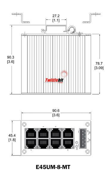E45UM8MT, Industrial Ethernet Switches
