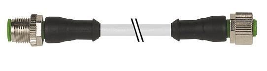 7000400212340200, M12 4 Pole Extension Robotic PUR Micro Cables