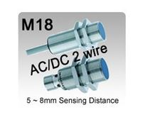 Picture for category M18 AC/DC 2 wire Inductive Proximity Sensors