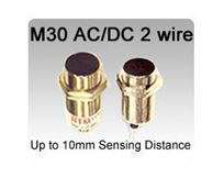 Picture for category M30 AC/DC 2 wire Inductive Proximity Sensors