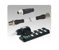 Picture for category M12 4 Pole, M12 5 Pole or M12 8 Pole Standard Cables & Distribution Blocks