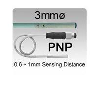 3mmø DC 3 wire NPN Miniature Inductive Proximity Sensors