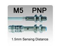 M5 DC 3 wire PNP Miniature Inductive Proximity Sensors