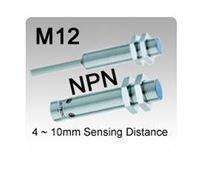 M12 DC 3 wire NPN Inductive Proximity Sensors