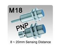 M18 DC 3 wire PNP Inductive Proximity Sensors