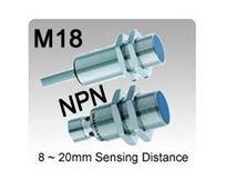 M18 DC 3 wire NPN Inductive Proximity Sensors