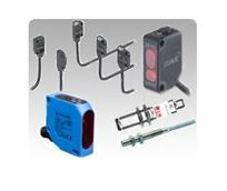 DC-only Powered Self Contained Photoelectric Sensors