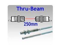 Mini Tubular: 4mmø & M5 Thru-beam Photoelectric Sensors