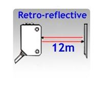 Compact Size Retro-reflective Photoelectric Sensors