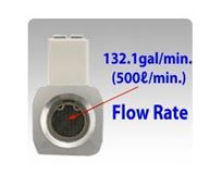 Up to 132.1gal/min (500l/min) Flow Rate Type Sensors