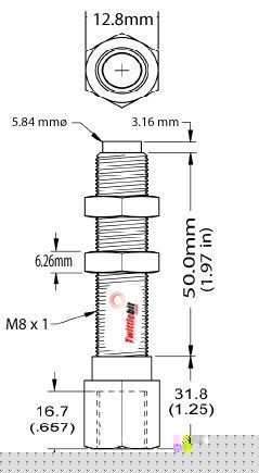 BSA085008, Standard Banking Screw Adapters (BSA)