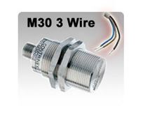 M30 DC 3 wire Inductive Proximity Sensors