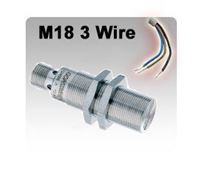 M18 DC 3 wire Inductive Proximity Sensors