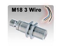 M18 DC 3 wire Inductive Proximity Sensors