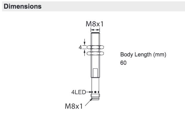 HTM Sensors LCU10803PACU3