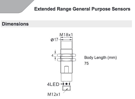 HTM Sensors OCN2-1816P-ARL4