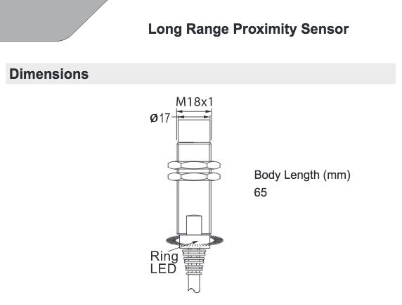 HTM Sensors LCM2-1820N-A3U2