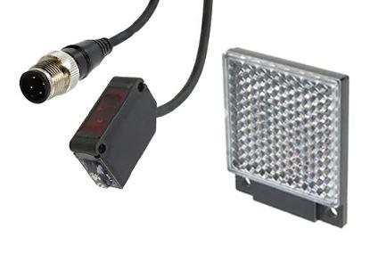 CX491J, 11.2x31x20mm World Standard Retro-reflective Photoelectric Sensors