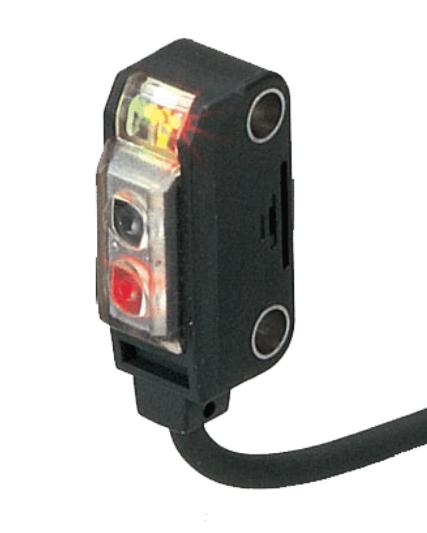 EX29B, 8.2x22x12.3mm Miniature Retro-reflective Photoelectric Sensors