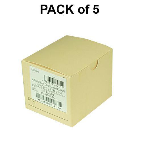 Canon 3604B001, 5PK Ink Ribbon Cassette